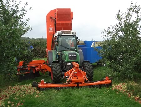apple picking machine